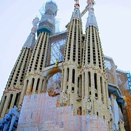 Antoni Gaudi's Sagrada Familia has been using 3D Printing for 14 years