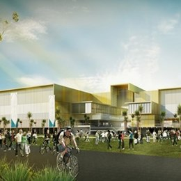 Construction begins at Gold Coast Commonwealth Games' Carrara Sports Precinct by BVN