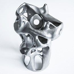 New 3D printed structural nodes by Arup reduces weight and cost of future construction materials