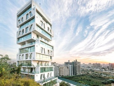 Best Tall Building - Middle East & Africa:  The Cube by Orange Architects. Photography by Matthijs van Roon