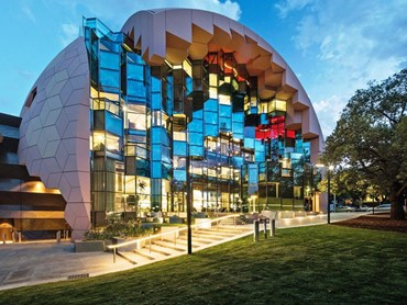 ARM Architecture, were awarded their unprecedented sixth Victorian Medal for the Geelong Library & Heritage Centre. Photography by John Gollings