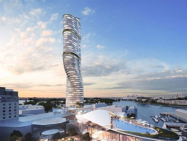 FJMT's proposal for the Star Casino Tower