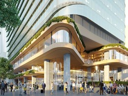 Bates Smart propose tapered tower with CLT podium for growing North Sydney
