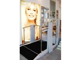 1m Independence step lift from Platform Lift Company