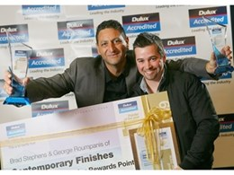 2009 Dulux Accredited Painter of the Year Awards