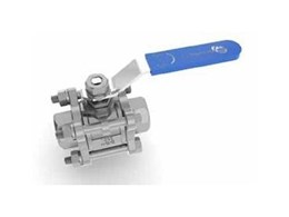 3-piece stainless steel ball valves now available from Galvin Engineering