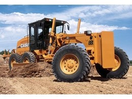 885 Tier III motor graders available from Case Construction