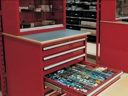 A clean workshop is an organised workshop: Actisafe parts storage