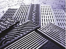 ACO pedestrian friendly grates are also slip resistant