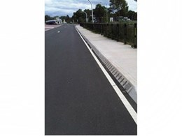 ACO's kerb drain system at Pheasants Nest truck stop