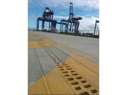 ACO's monolithic drain system manages stormwater at Brisbane Port