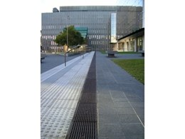 ACO's trench drain and anti-slip grates at Sydney University Law Building