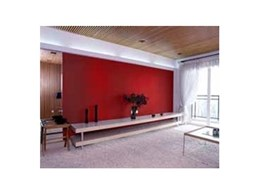 ACOUSTI-PANEL high performance sound absorption panels available from Tontine Insulation