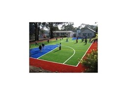 ACT Global Sports' Xtreme Turf synthetic grass court at Lower Plenty Primary School