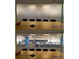 Record Automated Doors UMU Switchable Privacy Glass available from Record Automated Doors