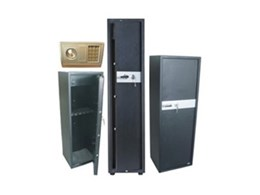 ALLSTEEL gun safes now available from Normist Fasteners