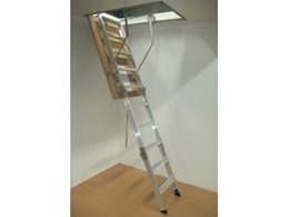 AM-BOSS domestic series access ladders for attic access