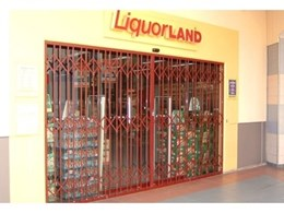 ATDC expanding trellis security barriers close the door on theft for pubs and liquor outlets