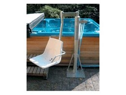 Above ground pool lifts available from Master Lifts