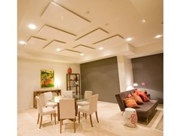 Acoustic Vision's QuietSCAPE decorative acoustic ceiling panels