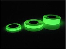 Adhesive glow tape available from Andian Sales