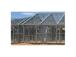 Advanced end-to-end steel frame building manufacturing solution from FrameCAD Solutions
