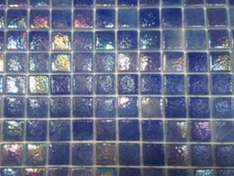 Affordable glass mosaic tiles tested safe for swimming pools
