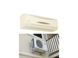 Alaska split system air conditioners for cooling and heating