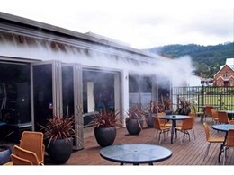 Alfresco Spaces Appointed Australian Distributor for Coolline Misting Systems