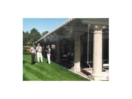 Alfresco Spaces Ltd stocks Coolline 550 stainless steel misting systems