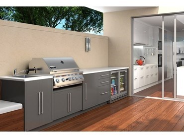 All-weather outdoor kitchen sets the pace in outdoor ... on Patio Kitchen Set id=76910