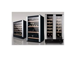 Allect range of underbench wine cabinets available from Vintec Australia