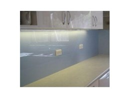 Allplastics Engineering offers a range of alternatives for glass kitchen splashbacks