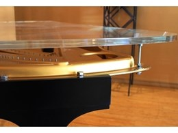 Allplastics hits the right note with new acrylic cover for Steinway piano