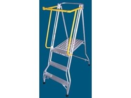 Allweld Industrial Ladders releases safety gate for folding platform ladders
