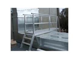 Aluminium ladders, Louvre and plant screens from Elevated Safety Systems