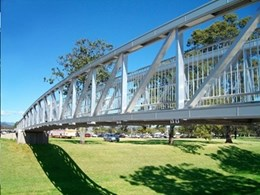 Aluminium pedestrian bridges up to 80m single span with low lifecycle cost