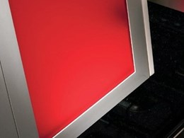 Alusion doors from Hafele in six types, four profiles and two finishes