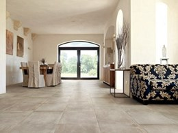 Amber's new Italian tiles collection makes a lasting impression indoors