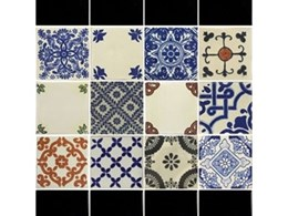 Antique Inspired Ceramic Tiles from Old World Tiles