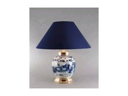 Antique Lamps in Blue and White