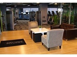 Anytime Fitness installs bamboo flooring from Eco Flooring Systems