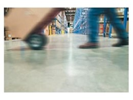 Aquepoxy concrete floor finish from Sandmar Products Australia