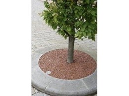 Arboresin resin bonded gravel tree pit surfaces from Arborgreen Landscape Products