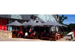 Architectural umbrellas from MakMax Australia