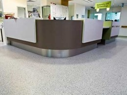 Armstrong Flooring's low VOC vinyl floor and wall coverings contribute to sustainability at Gold Coast University Hospital