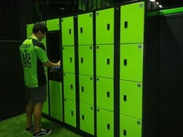Aussie Lockers to install keyless electronic lockers at FlipOut trampoline parks