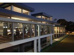 Austral Bowling Club uses Safetyline Jalousie louvre windows to meet smoking regulations