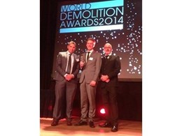 Australian demolition company wins international award for decommissioning project