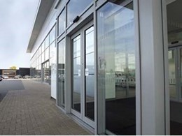 Automatic sliding doors now available from Kone Elevators